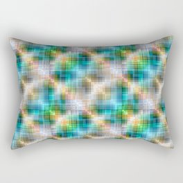 Multi-colored  pattern .3 Rectangular Pillow