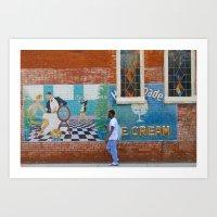 Harrison & Grace Art Print