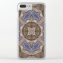 Victorian Art Deco Medieval Pattern SB42 Clear iPhone Case