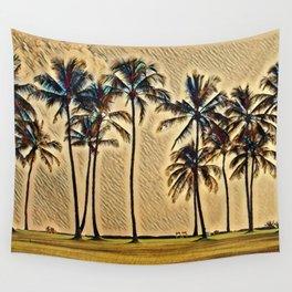 Hawaiian Vacation Wall Tapestry