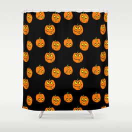 Silly Pumpkins Shower Curtain