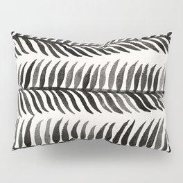 Black Seaweed Pillow Sham