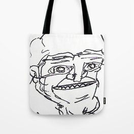 Mr Weirdface Tote Bag