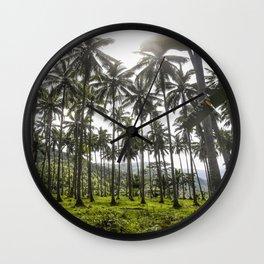 Buko (Coconut) Trees Wall Clock