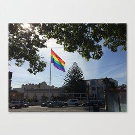 The Castro Canvas Print