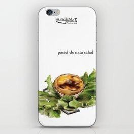 La Cuisine Fusion - Pastel de Nata Salad iPhone Skin