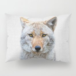 Coyote - Colorful Pillow Sham