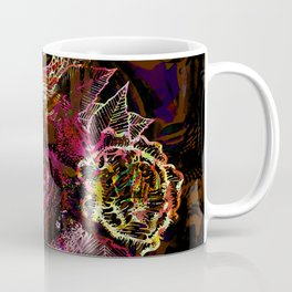 Volcanic Snake in Space Coffee Mug
