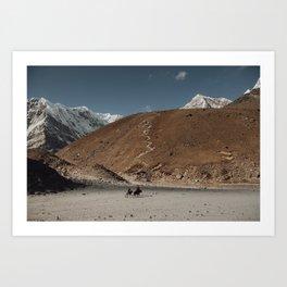 Ghorak Shep Art Print