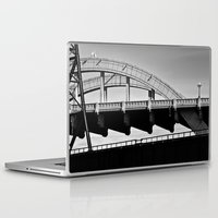 physics Laptop & iPad Skins featuring complex convexity by blumwurks