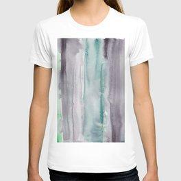 23    190907   Watercolor Abstract Painting T-shirt