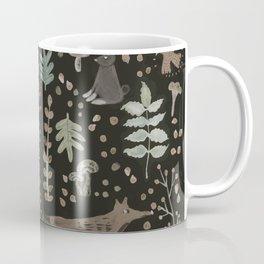 Woodland Nature at Night Coffee Mug