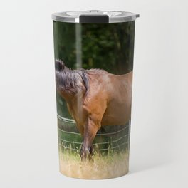 Royal class of horses, an Arabian thoroughbred Travel Mug