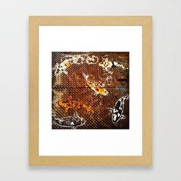 Grate Koi! Framed Art Print