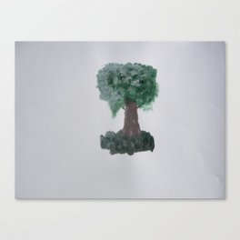 Lonely tree.  Canvas Print