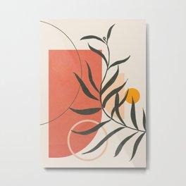 Geometric Modern Art 41 Metal Print