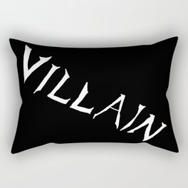 Villain in Black Rectangular Pillow