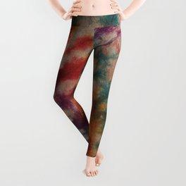 Tie Dye Rainbow Leggings