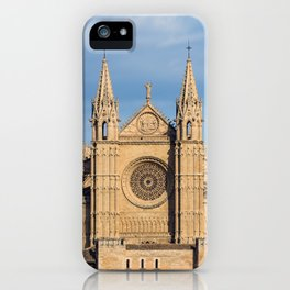 Cathedral of Palma de Mallorca iPhone Case
