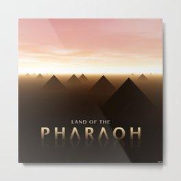 Land of The Pharaoh Metal Print