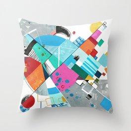 Compression Breakthrough Throw Pillow