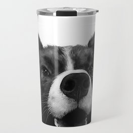who's a good boy? Travel Mug