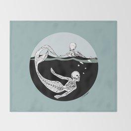 Stone Cold Sea Dwellers Throw Blanket