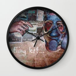 Nothing Left Wall Clock