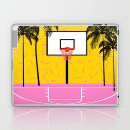 Dope - memphis retro vibes basketball sports athlete 80s throwback vintage style 1980's Laptop & iPad Skin