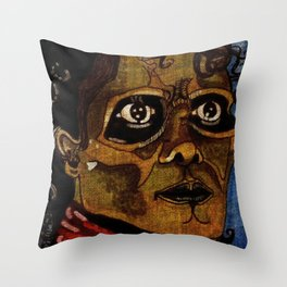 It's Close To Midnight Throw Pillow