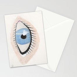 The Eye Sees Neptune Stationery Cards