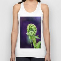fern Tank Tops featuring Fern by LoRo  Art & Pictures