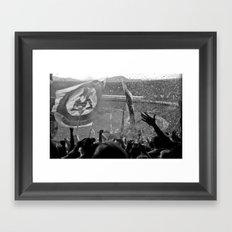 Flamengo 2009 hexa Framed Art Print