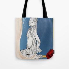 Venus in Milk Tote Bag