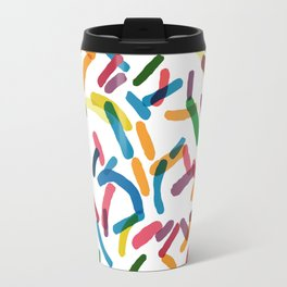 Rainbow Sprinkles Travel Mug