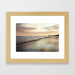 Somnolent Sea Framed Art Print