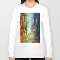 waterfall Long Sleeve T-shirts featuring Waterfall by sophtunes