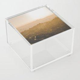 Golden Hour - Los Angeles, California Acrylic Box