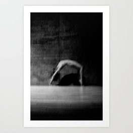 male nude study Art Print