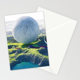 Furry Composition Stationery Cards
