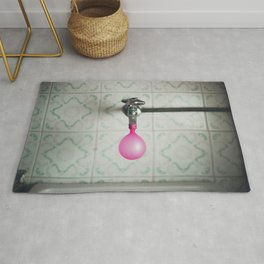 Tap with a pink balloon Rug