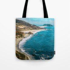 California Coastline Dreaming Tote Bag
