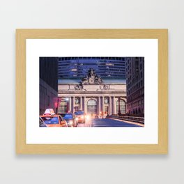 Grand Central Station Framed Art Print
