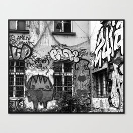 Metelkova Canvas Print