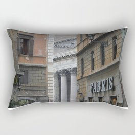 Peeking Pantheon Rectangular Pillow