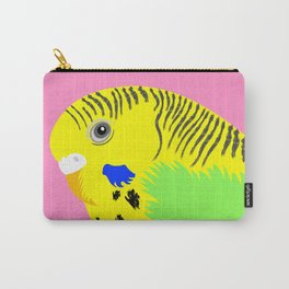 Green Budgie Carry-All Pouch