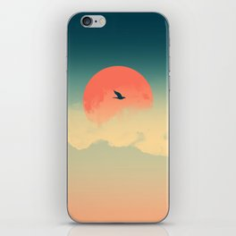 Lonesome Traveler iPhone Skin