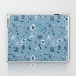 Blue Daisy Field Laptop & iPad Skin