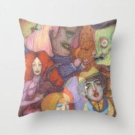 Forbidden Dance Throw Pillow