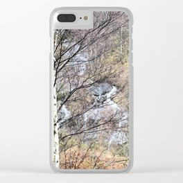 The solace of nature Clear iPhone Case
